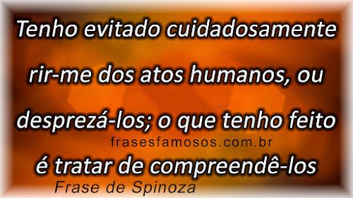 Frases de Spinoza sobre a Humanidade