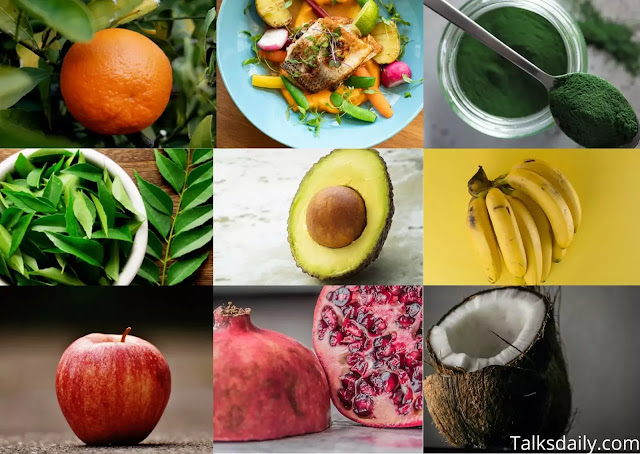 best food to prevent hair fall, hair fall control food