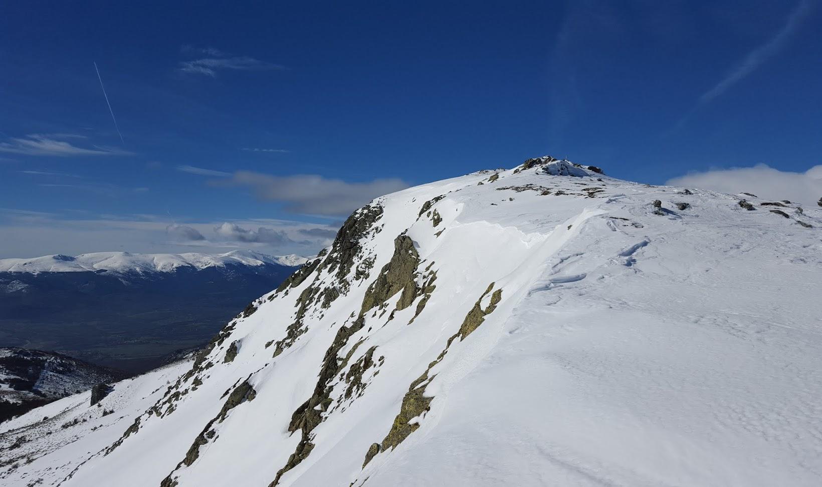 El Nevero, iniciación montaña invernal