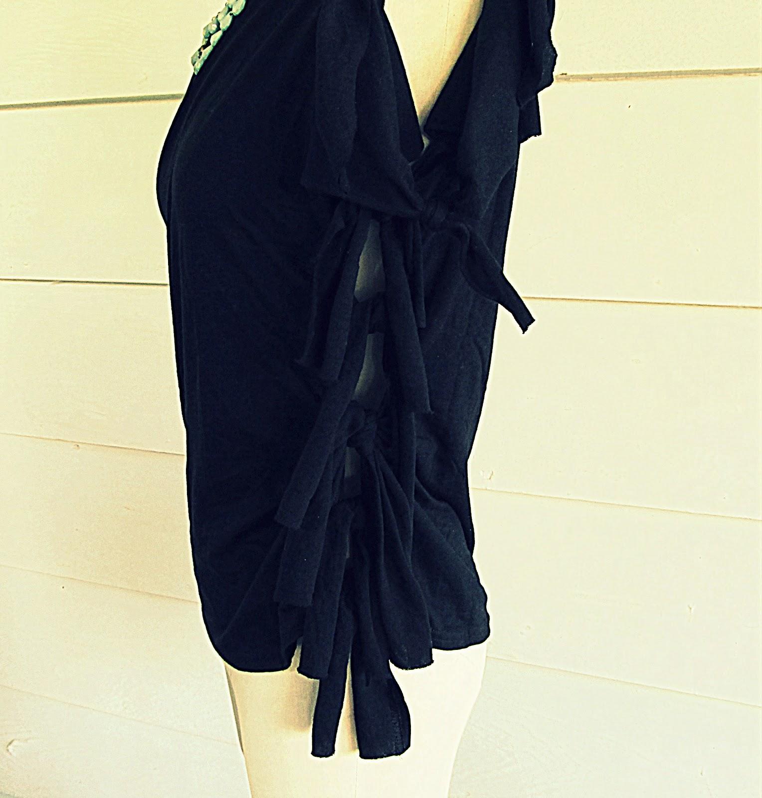 siyah-bluz-yenileme-geri-donusum-moda