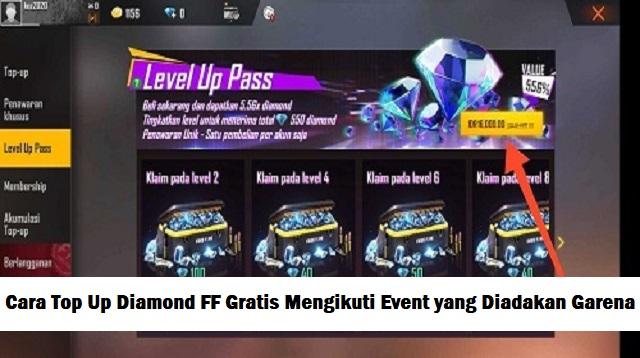 Cara Top Up Diamond FF Gratis