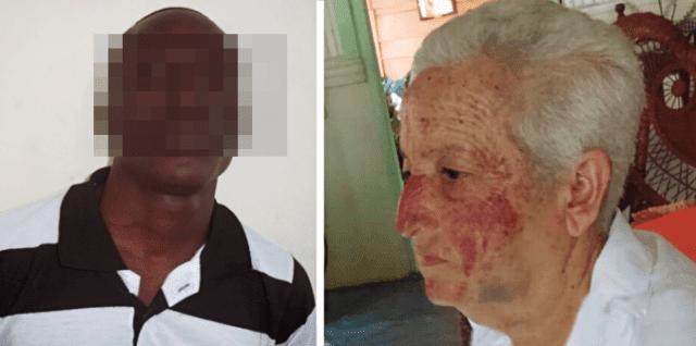 Anciana de 70 años fue golpeada salvajemente por un hombre de nacionalidad haitiana