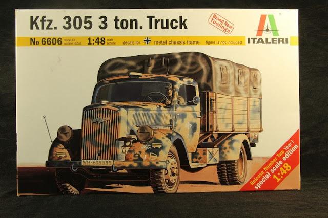 Kfz.305 3 ton.truck Italeri 1/48