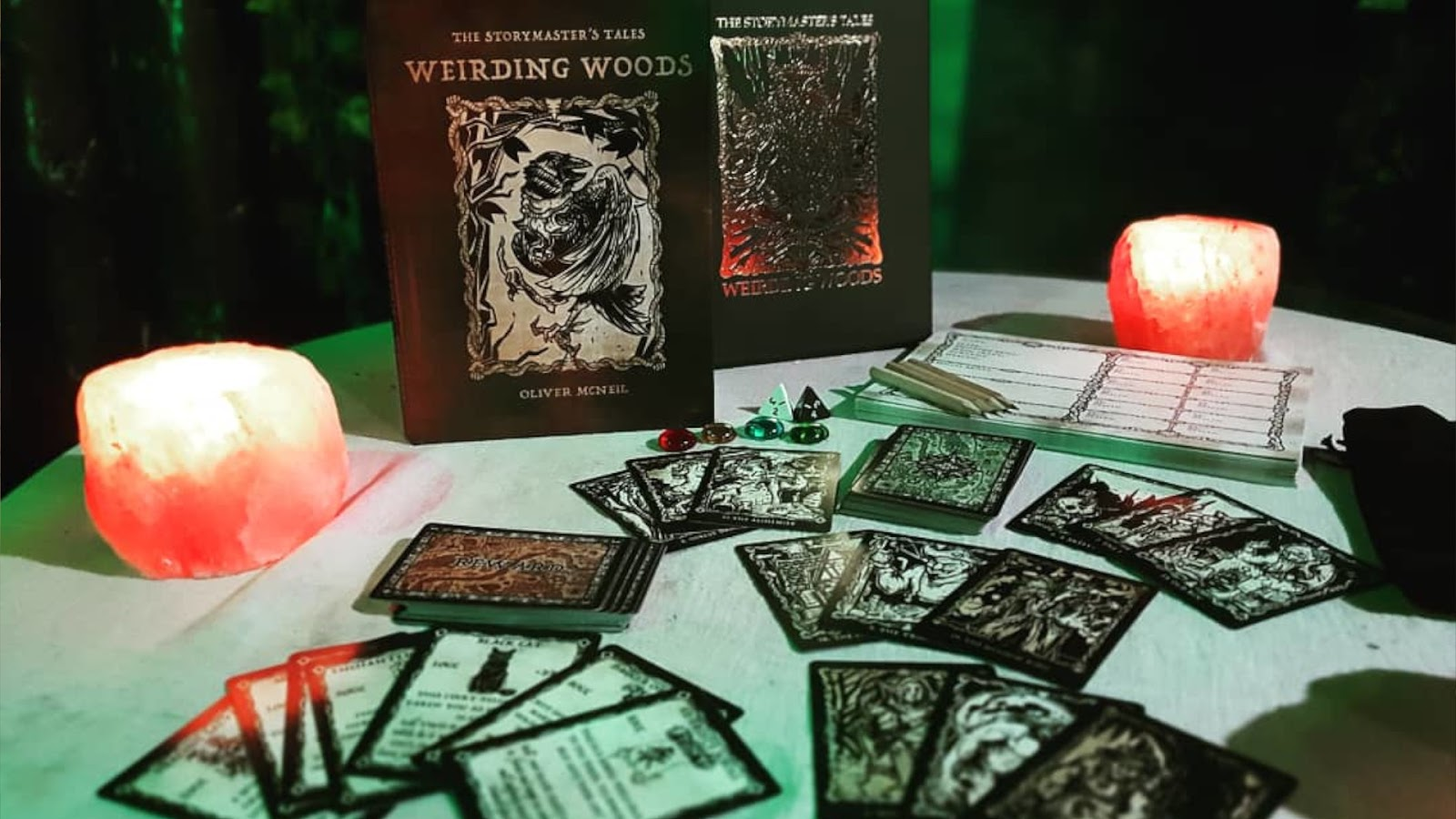 Kickstarter Highlights - Storymasters Tales Weirding Woods