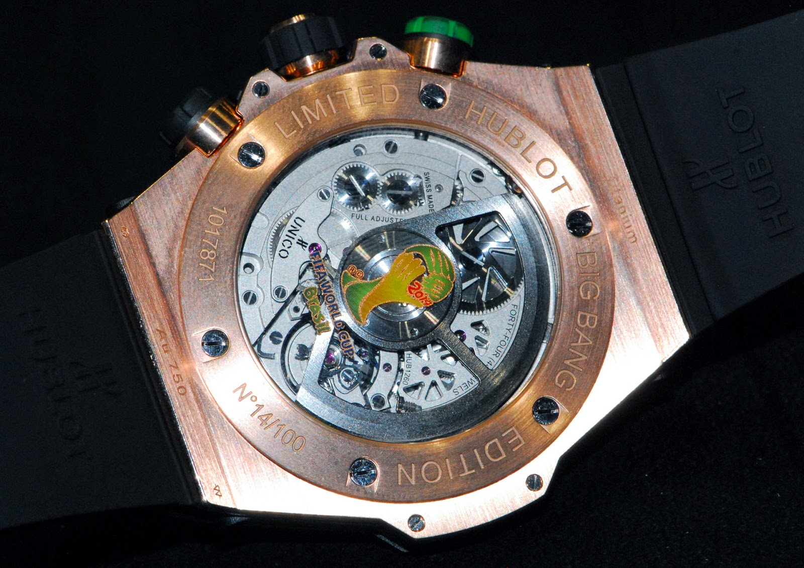 Calibre HUB1260 UNICO Hublot