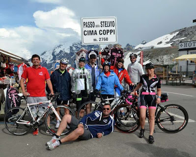 carbon road bike rental shop Bormio Stelvio pass