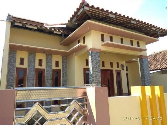 rumah minimalis kombinasi warna moca