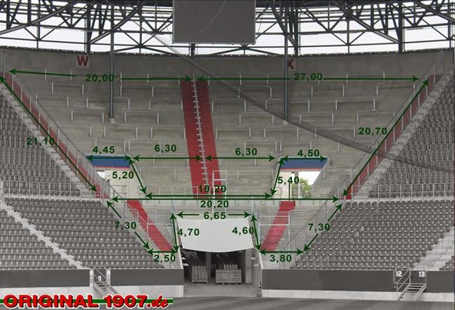 Volkswagen Arena Gästeblock
