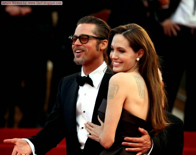 Angelina Jolie and Brad Pitt Got Married in France