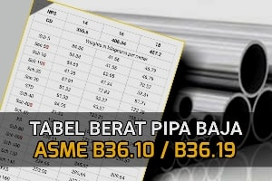 tabel-berat-pipa-baja-stainless