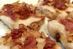 Bacon and Swiss Chicken or Pork Chops