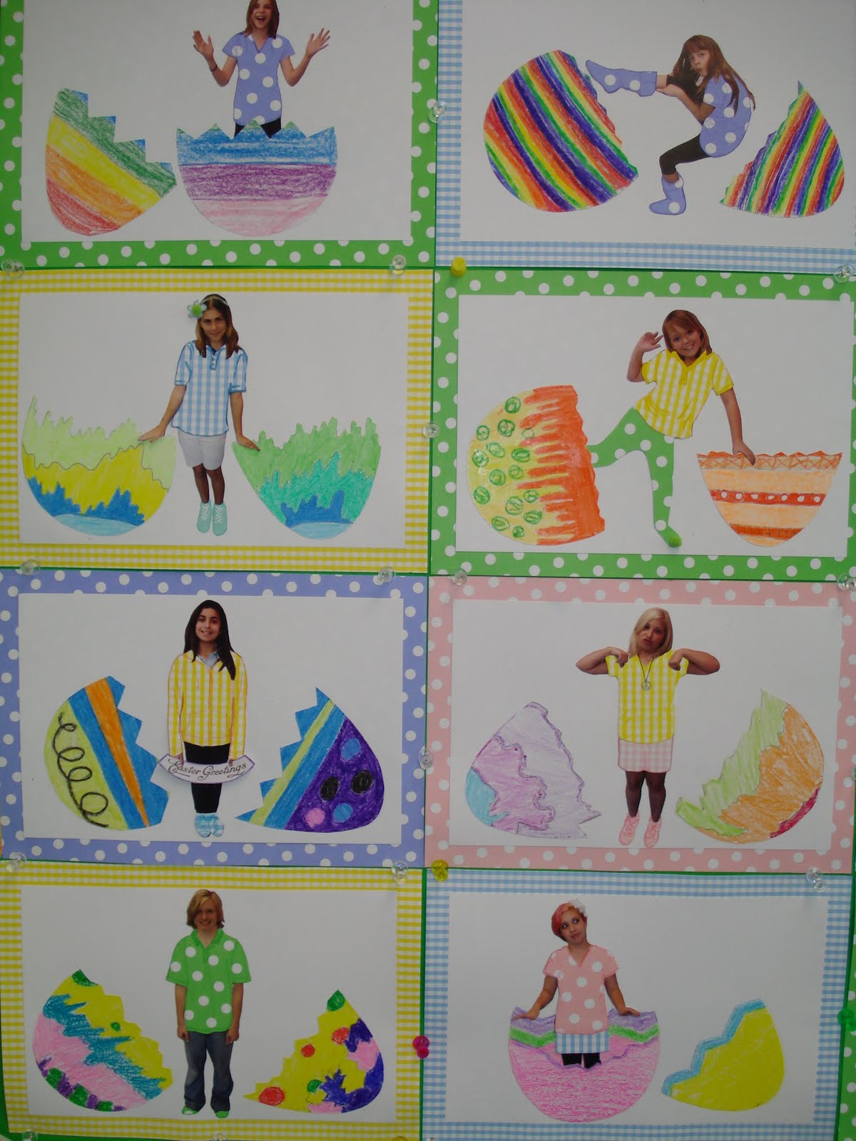 Sudio S Studio Easter Bulletin Board