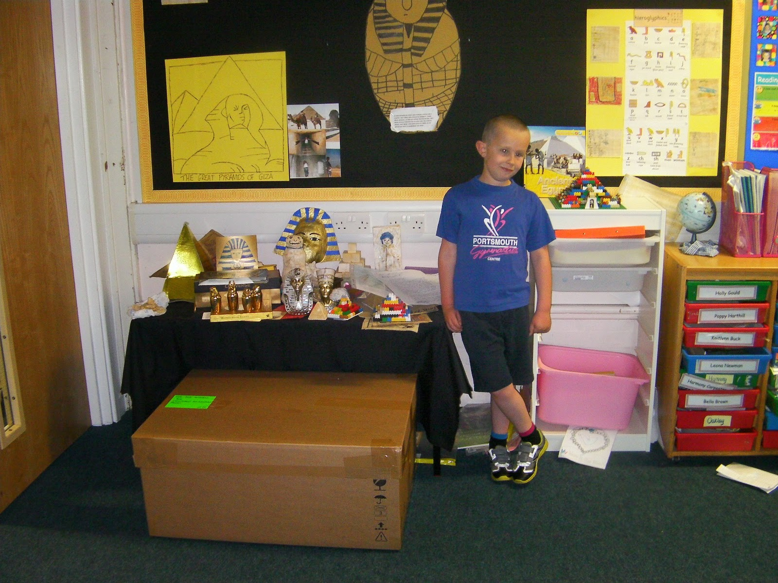 rameses pharoahs head pyramids scarabs school class project on egyptians