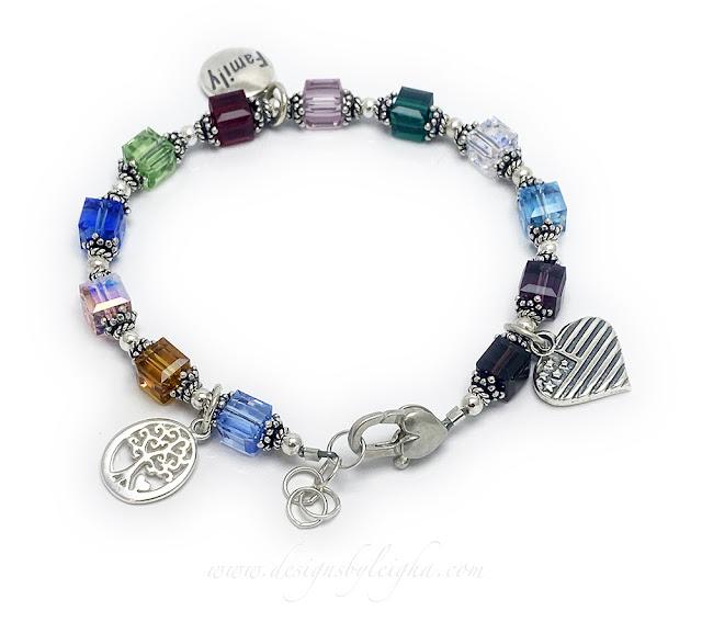 Retirement Gift Ideas - Memory Charm Bracelets
