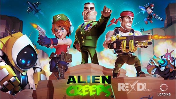 تحميل Alien Creeps TD مهكرة اخر اصدار