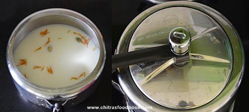 semiya payasam in pressure cooker