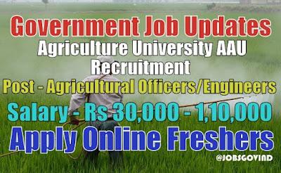AAU Recruitment 2021
