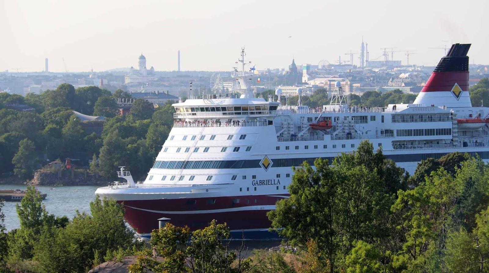 Viking Line Kustaanmiekansalmessa