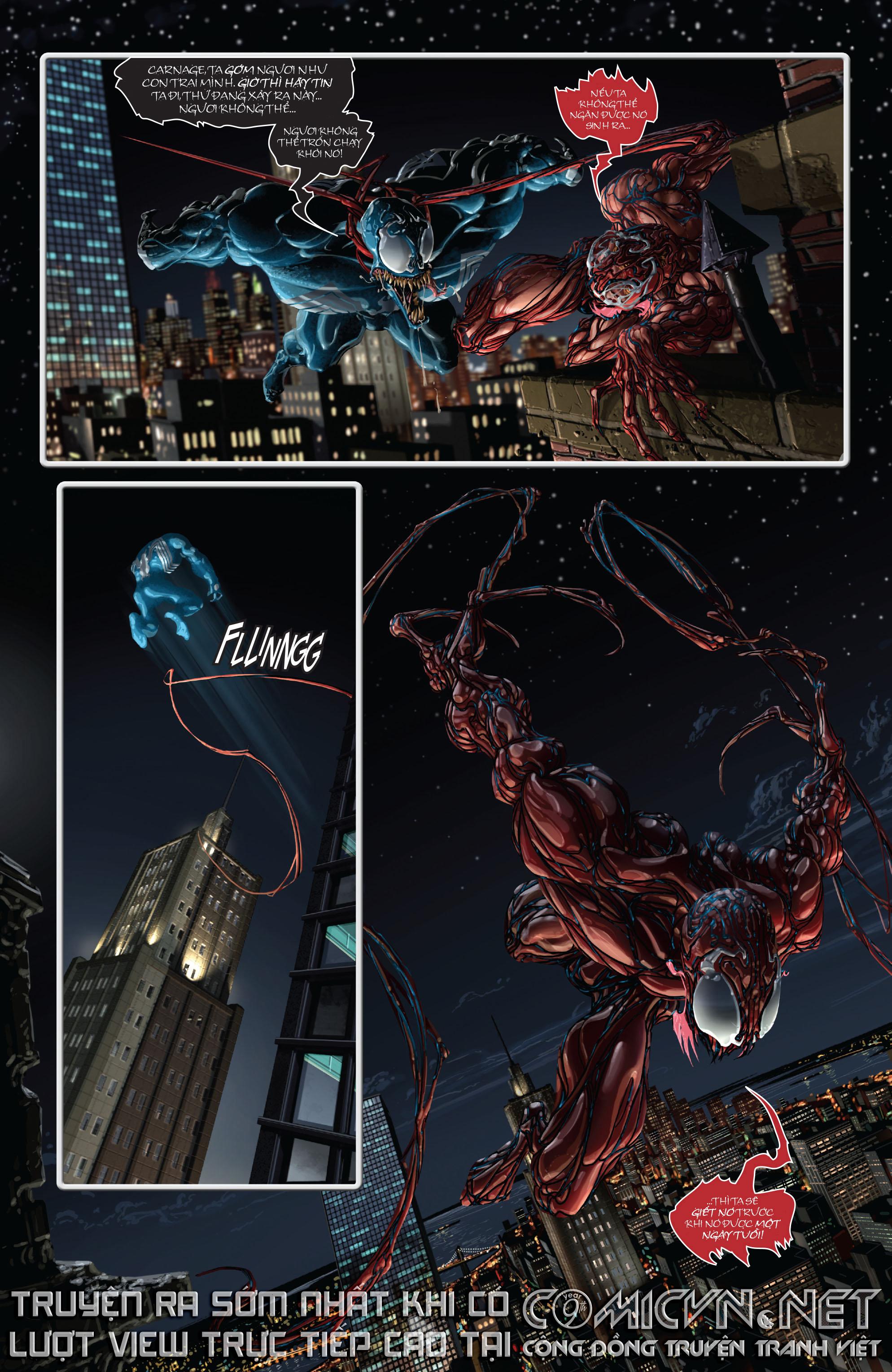 Venom vs Carnage: A Child Is Born - Đứa Bé Đản Sinh