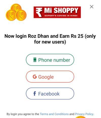 rozdhan account create