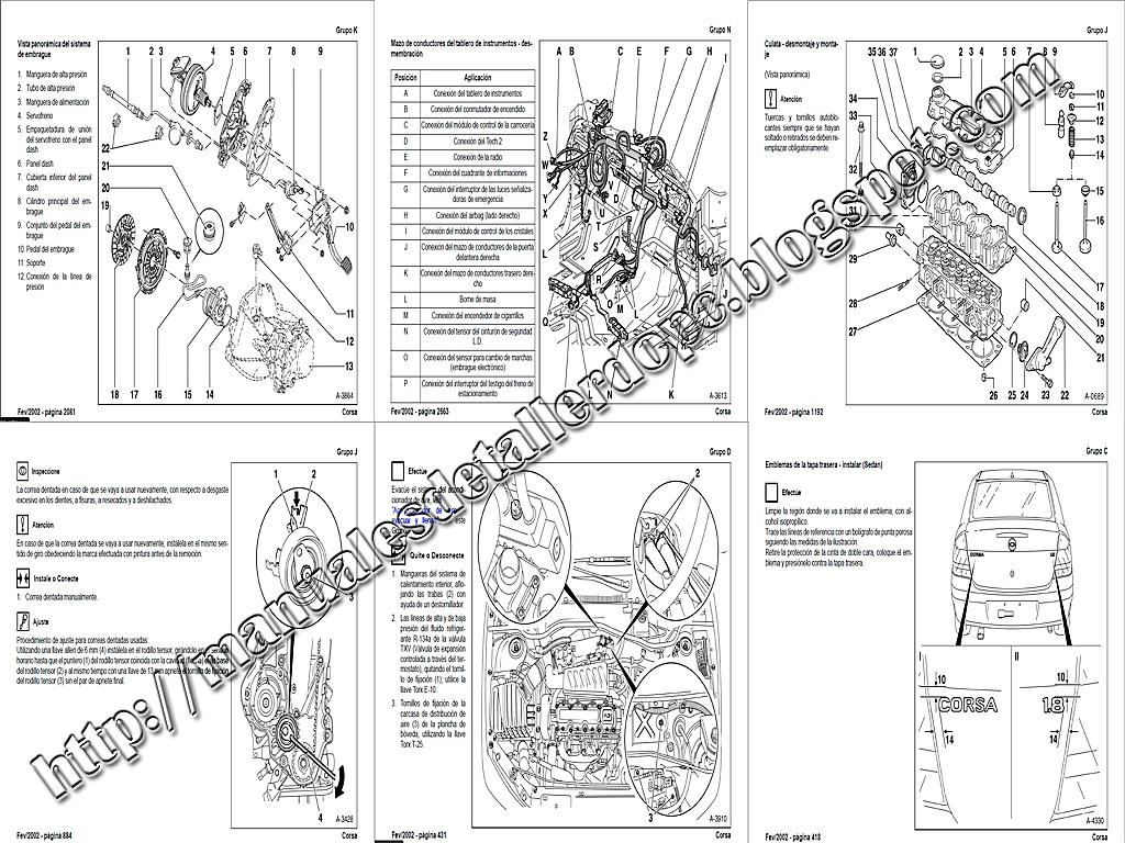 Manuales De Taller DO PC: Manual De Taller Corsa 1.8