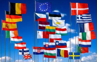 Nama Negara di Benua Eropa