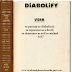 WORD OF THE DAY:  DIABOLIFY