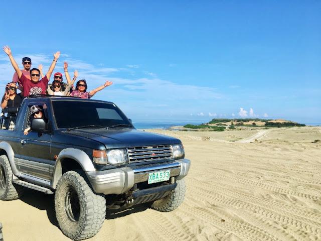 Ilocos Norte - Fun at Paoay Sand Dunes 4x4 Paoay, Ilocos Norte