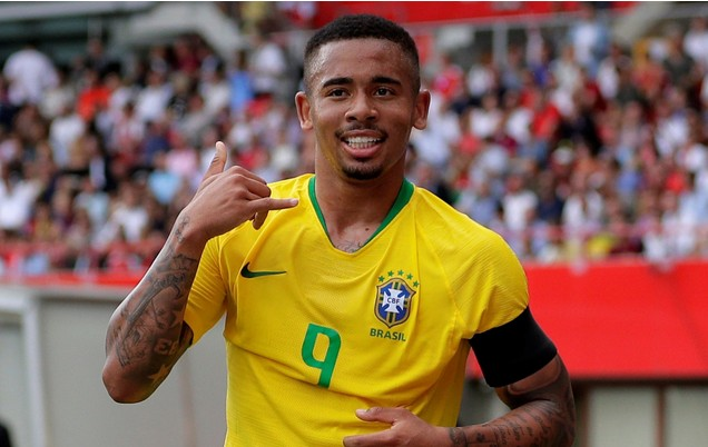 The Biography And Grass To Grace Success Story Of Brazilian Gabriel Jesus, Manchester City Striker (Including His Net Worth)