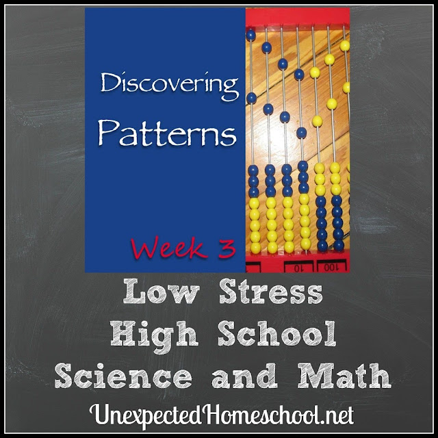 Unexpected Homeschool: Low Stress High School Science and Math Curriculum Ideas (VCF 2017 Week 3)