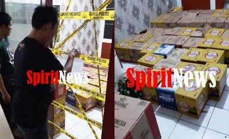 Kabid Humas Polda Sulsel Bantah Informasi,  Razia Miras Polsek Panakukang  Libatkan  FPI
