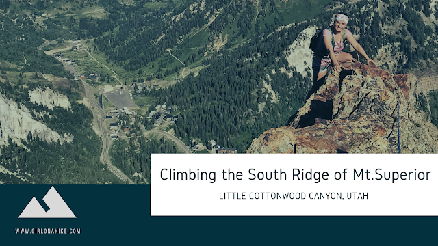 Climbing the South Ridge of Mt.Superior