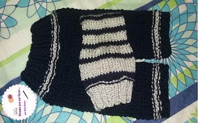 calça de tricô para recém nascido