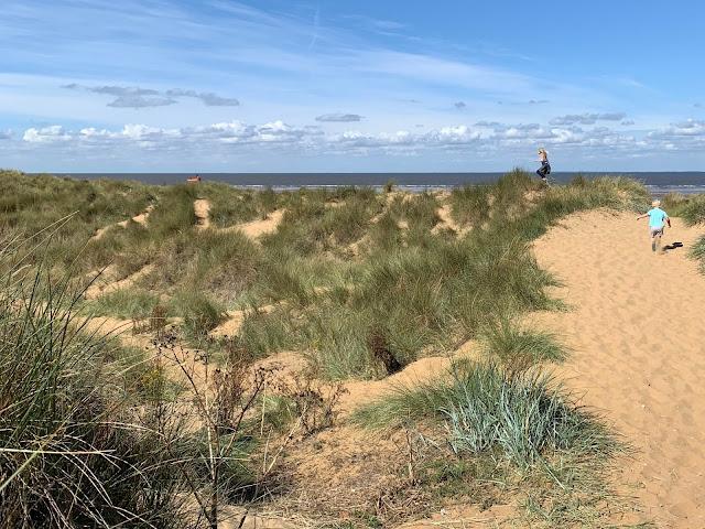 Old Hunstanton Sand Dunes
