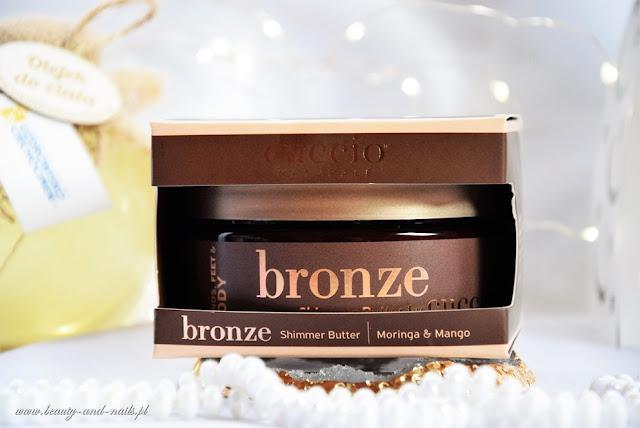 Cuccio, masło rozświetlająco-brązujące. Bronze Shimmer Butter.