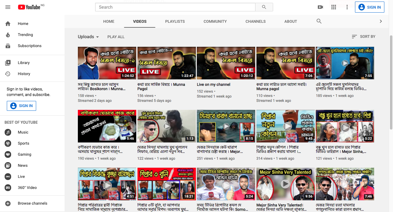 YouTube watch Hindi Movies Online