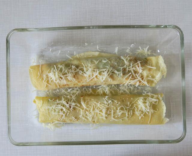 Spinat, Schinken und Käse, gut verpackt | pastasciutta.de