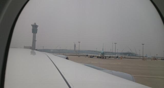 Flughafen Incheon - Außenaufnahme