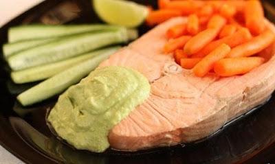 рецепт вареного лосося