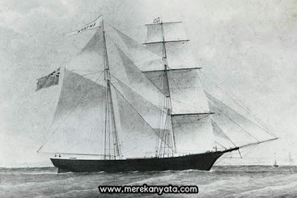 Misteri Menghilangnya Penumpang Kapal Mary Celeste