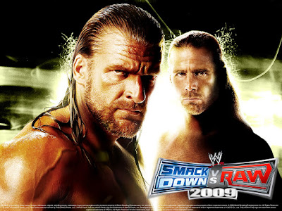 Download WWE Smackdown VS Raw 2009 Game