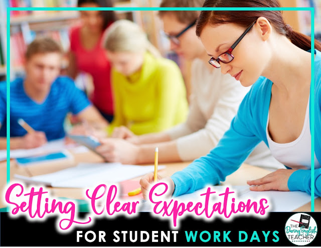 Setting Clear Expectations for Student Work Days
