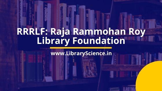 Raja Rammohan Roy Library Foundation