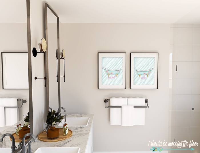 Printables for the Bathroom