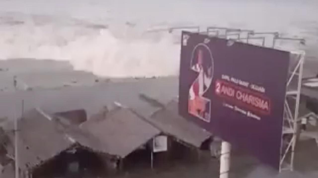 Tsunami di Palu Sulawesi Tengah