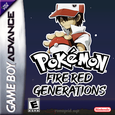 Pokemon Fire Red Generations GBA ROM Hack Download