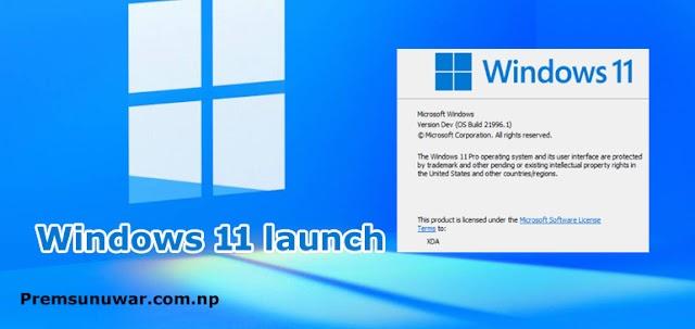 Windows 11 launch live updates | Windows 11 download