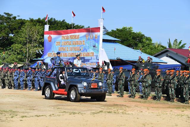Panglima TNI Resmikan Empat Satuan Baru TNI di Sorong