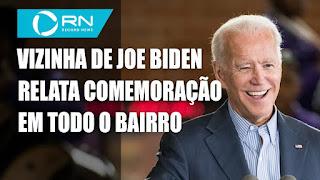 Festas e protestos em Washington  - Brasileira vizinha de Joe Biden relata festa