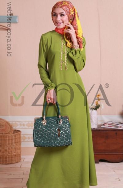 Model Busana Muslim Untuk Hari Raya Idul Fitri 2017